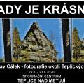 """""""TADY JE KRÁSNĚ"""" - výstava fotografií - Jaroslav Čálek"""