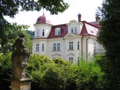 Domov Dolní zámek - pohled zezahrady