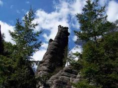 Koruna vTeplických skalách