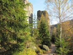 Podzim vTeplických skalách